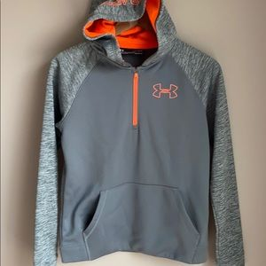 Under Armour Youth Cold Gear Hooded Sweatshirt